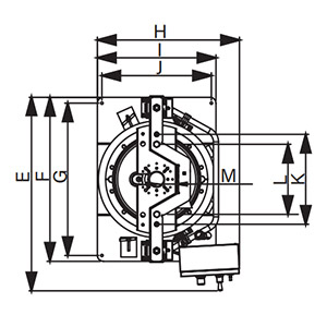 Dimensions for Lion™ Inductor, Double Post RAM